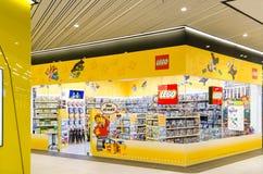 Магазин игрушек Lego Стоковое Изображение
