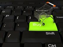 магазин интернета принципиальной схемы Стоковая Фотография RF