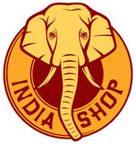 Магазин Индии Стоковые Изображения