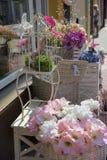 Магазин искусственного цветка стоковая фотография rf