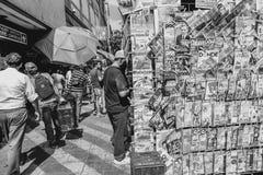 Магазин кассеты Мехико на улице Стоковая Фотография