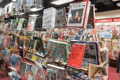 Магазин книги в Hong Kong Стоковые Фотографии RF