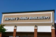 магазин книготорговцев barnes благородный Стоковые Фото