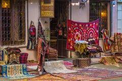 Магазин ковра Архитектура старого городка Тбилиси стоковые фотографии rf