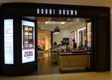 магазин коричневого цвета bobbi Стоковые Изображения RF