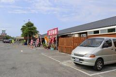 Магазин костяшки свинины Wanluan в деревне Стоковое Изображение RF