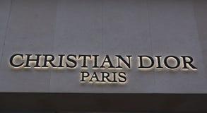 Магазин Кристиана Dior Стоковое Фото
