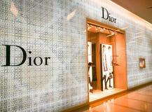 Магазин Кристиана Dior Стоковое Изображение RF