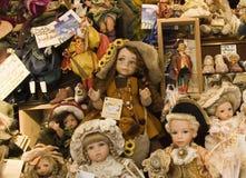 магазин куклы фарфора Стоковые Фото