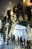 магазин лестницы яблока стеклянный стоковая фотография rf