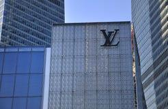 Магазин Луис Vuitton Стоковое Изображение RF