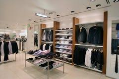 магазин людей одежды Стоковые Фото