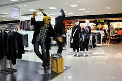 магазин людей s одежд Стоковые Изображения RF