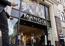 Магазин манго в Лондоне стоковое изображение rf