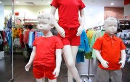 магазин манекенов ребенка Стоковая Фотография