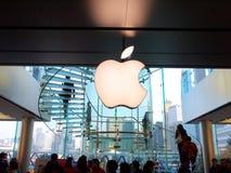 магазин мола ifc яблока Стоковые Изображения RF