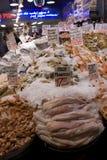 Магазин морепродуктов на рынке места Pike Стоковые Изображения