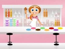 Магазин мороженого Стоковые Фотографии RF