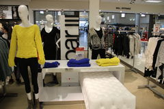 Магазин моды женщин Стоковое фото RF