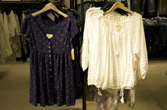 Магазин моды женщин Стоковое Изображение
