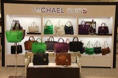 Магазин моды сумки Майкл Kors Стоковые Фото