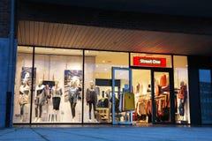 Магазин моды улицы одного Стоковые Фотографии RF
