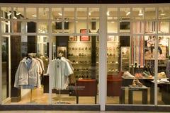 Магазин моды людей Стоковая Фотография RF