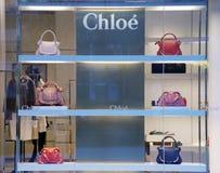 Магазин моды Chloe в Китае стоковые изображения