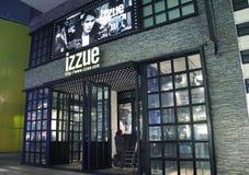 Магазин моды Izzue в Китае стоковое изображение rf
