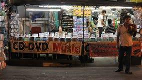Магазин музыки уличного рынка Стоковая Фотография RF