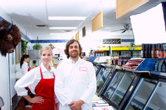 Магазин мяса Стоковое фото RF