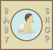 Магазин младенца Стоковое Изображение