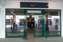 Магазин Найк в Parndorf, Австрии Стоковая Фотография