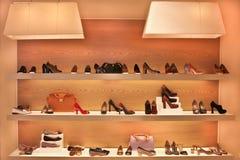 Магазин обуви Стоковое Фото