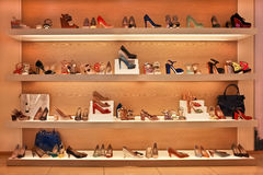 Магазин обуви Стоковое Изображение RF