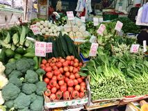 Магазин овощей Стоковое фото RF