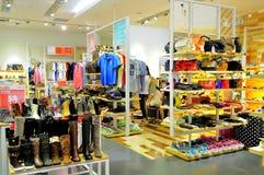 магазин одежды Стоковые Изображения RF