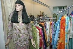 магазин одежды Стоковая Фотография