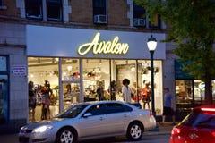 Магазин одежды Avalon, Сент-Луис Миссури стоковые изображения