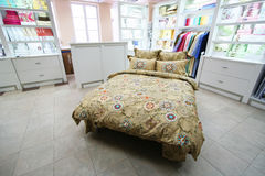 магазин одежд кровати Стоковое Изображение