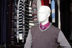 магазин одежд стоковая фотография rf