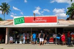 Магазин 13-ое мая 2017 pasalubongsouvenir в Batangas, Philippi Стоковые Фотографии RF