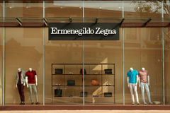 Магазин окна Стоковое Фото