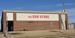 Магазин оружия, Мемфис, TN стоковое изображение