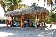 магазин острова catalina пляжа Стоковое Фото