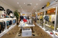 Магазин одежды в моле meisui Стоковые Фотографии RF