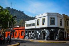 Магазин одежды в Сантьяго Стоковое Изображение
