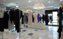 магазин одежды женский Стоковое Фото
