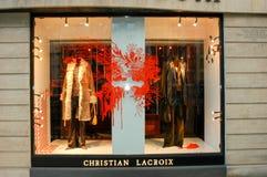 Магазин одежды Кристиана Lacroix на Париже Стоковая Фотография