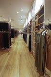 Магазин одежды Стоковое Изображение